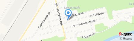 Кешка-сладкоежка на карте Сургута