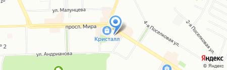 К1 на карте Омска
