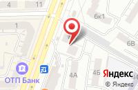 Схема проезда до компании Опус в Омске