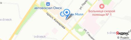Елена на карте Омска