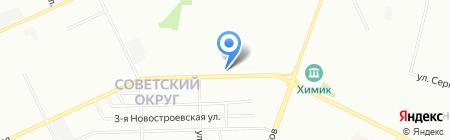 Реверс на карте Омска