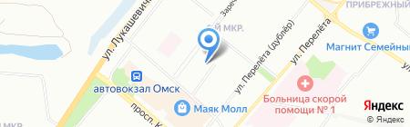 Кредитная Линия на карте Омска