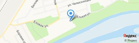 На Калинке на карте Сургута