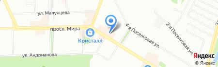 СМУ-1 на карте Омска