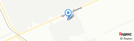 Поликрас на карте Омска
