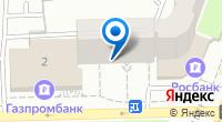 Компания Газпромбанк на карте