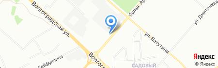 Pinky car на карте Омска
