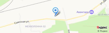 ЖелДорЭкспедиция на карте Сургута