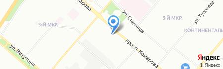 Развитие на карте Омска
