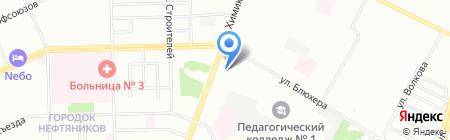 Темп на карте Омска