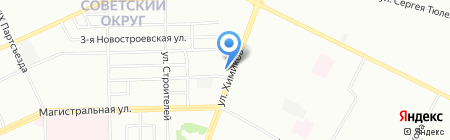 Оранж на карте Омска