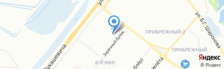 Детский сад №122 на карте Омска