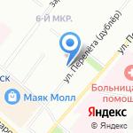 Мика на карте Омска