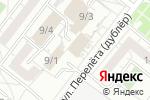 Схема проезда до компании Легион-Строй в Омске