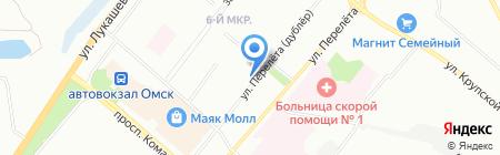 Легион-Строй на карте Омска