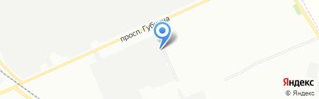 Кронос-трейд на карте Омска