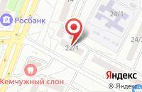 Схема проезда до компании Компания «Феникс» в Омске