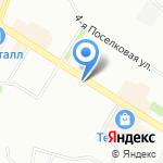 Суши-Маркет на карте Омска