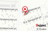 Схема проезда до компании Контакт-98 в Омске