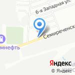 Роско-Сибирь на карте Омска