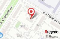Схема проезда до компании Диа Груп в Омске
