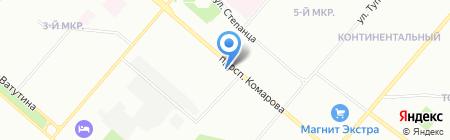 Актуальная эргономика рабочего пространства на карте Омска