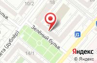 Схема проезда до компании Амт Электроникс в Омске