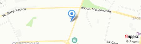 Евразия-Экспорт на карте Омска