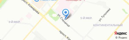 Союз на карте Омска