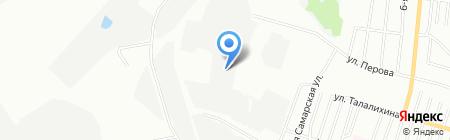 АвангардСтрой на карте Омска