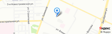 Средняя общеобразовательная школа №61 на карте Омска