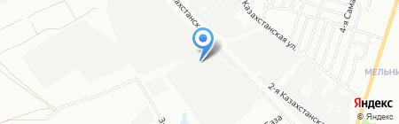 Геба на карте Омска