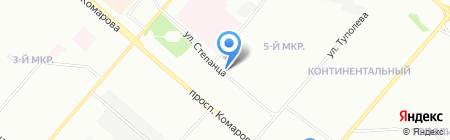 Стрижки у Веры на карте Омска
