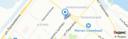 А Групп на карте Омска