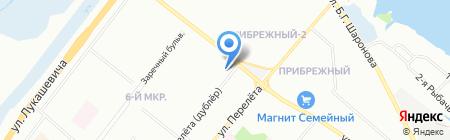 ПРАЛИНЕ на карте Омска