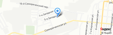 АвтоДиС на карте Омска
