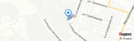 МРСУ на карте Омска