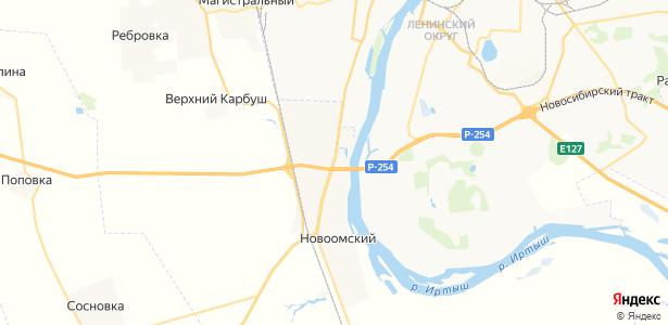 Троицкое на карте