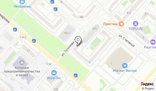Апекс. Схема проезда в Омске