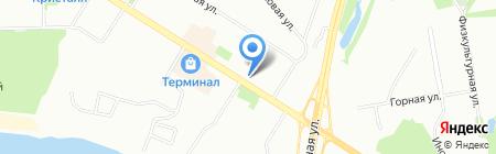 Малина на карте Омска
