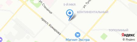 Глобальные Технологии на карте Омска