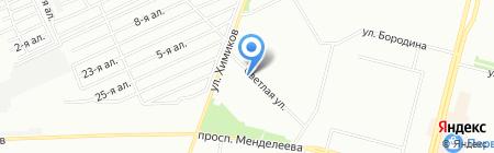 Сириус на карте Омска