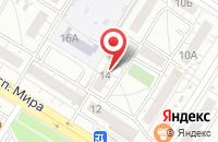 Схема проезда до компании Интегро в Омске