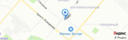 Родник на карте Омска