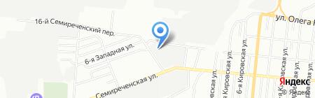 Аккумулятор на карте Омска