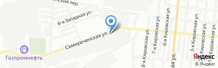 Агрозапчасть на карте Омска