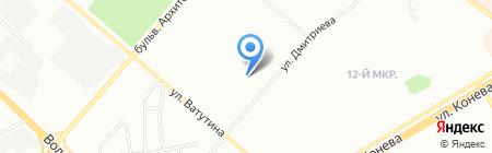 Парфюм Новосибирск на карте Омска