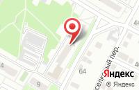 Схема проезда до компании Номер в Омске