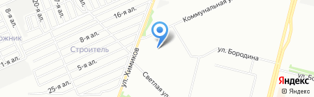 Детский сад №204 на карте Омска