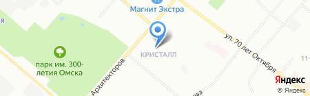 Основной элемент на карте Омска